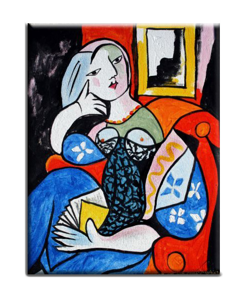 3 paintings picasso
