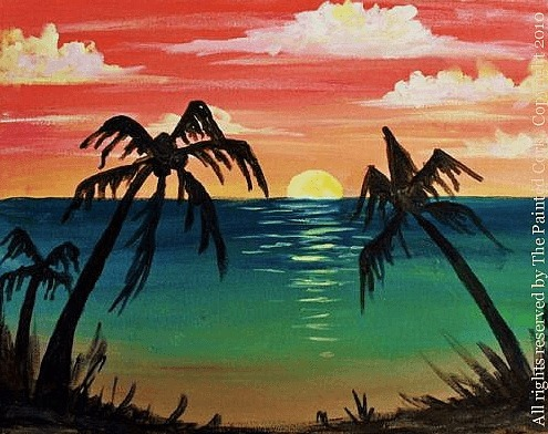 Tropical Sunset #1