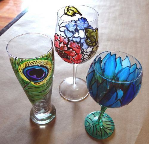 Paint Your Own Glass!