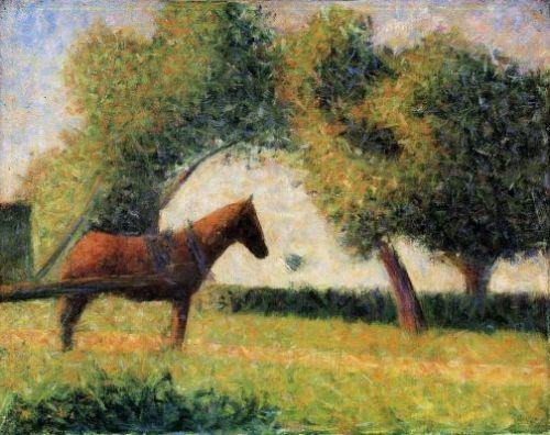 Seurat's Horse and Cart