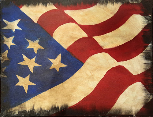 Rustic Old Glory