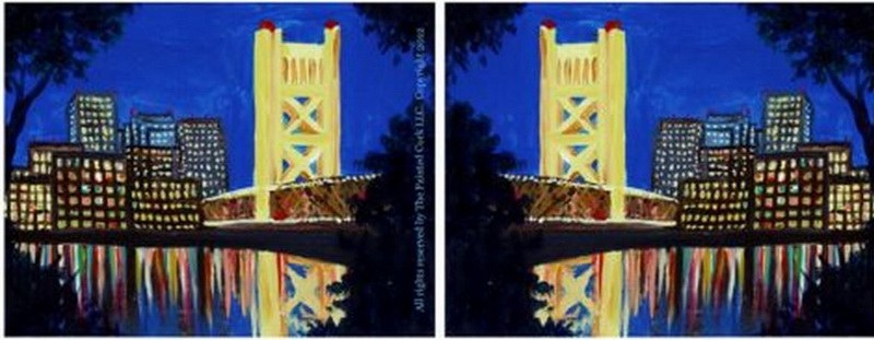 Sacramento's Tower Bridge DATE version