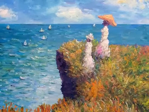 Monet's Cliff Walk