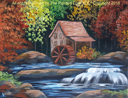 Peaceful Watermill