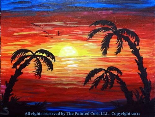 Tropical Sunset #2