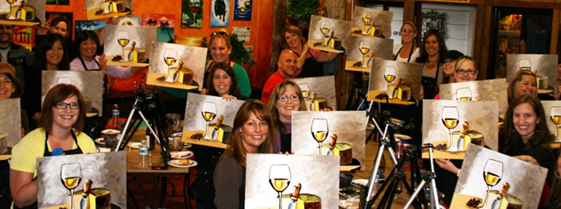 Sip Wine & Paint a Masterpiece