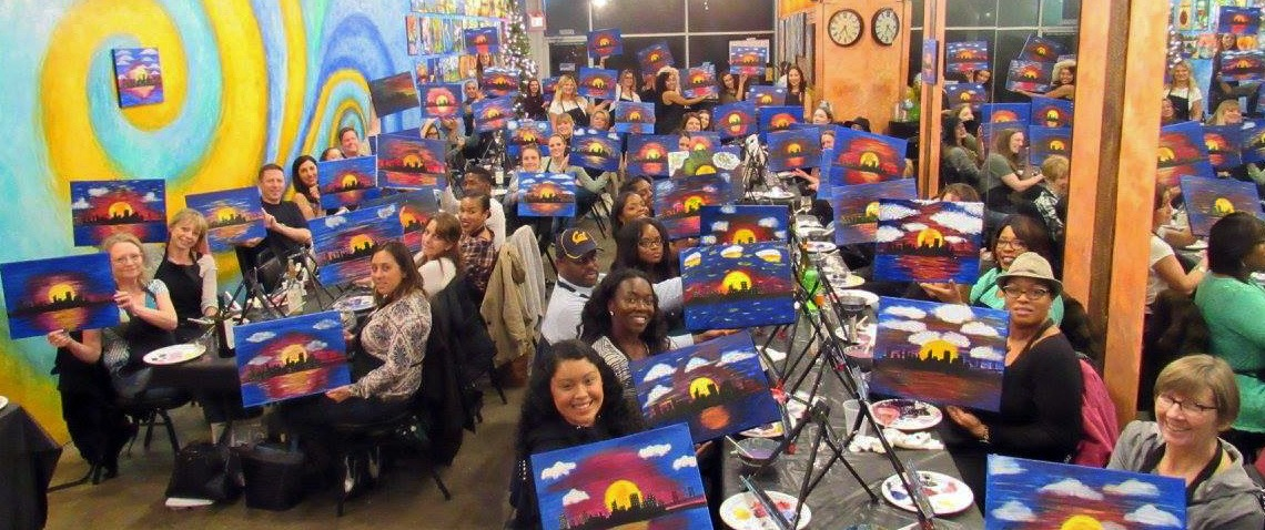 Sip Wine & Paint a Masterpiece!