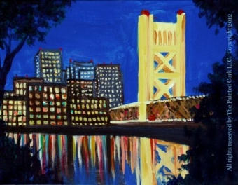 IN STUDIO CLASS ~ Sacramento Studio 6/13: Sac Tower Bridge ~ SUPER SPECIAL ~ $10 Off! ~ Ages 21 and up