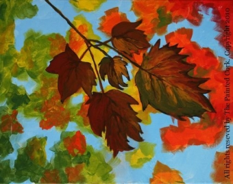 Folsom Studio 9/3: Fall Leaves ~ Ages 21 and up