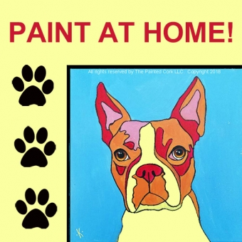 PAINT YOUR PET ~ AT HOME! ~ Warhol Style!  Pick up your painting kit at our SAC studio on 7/18