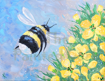 IN STUDIO CLASS ~ Sacramento Studio 6/14: Bee Happy ~ Ages 21 and up